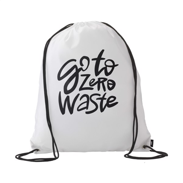 Promo RPET backpack - White