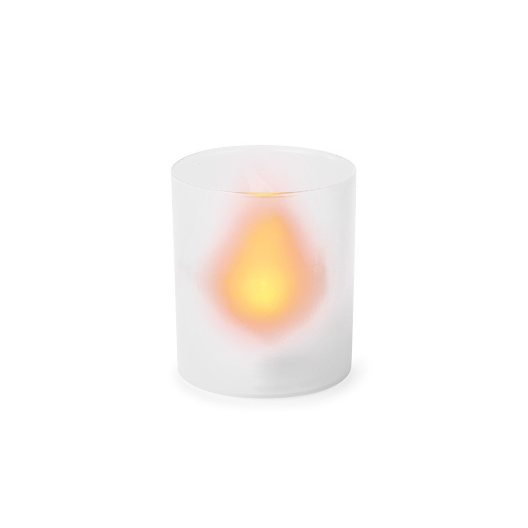 Electric Candle Fiobix - White