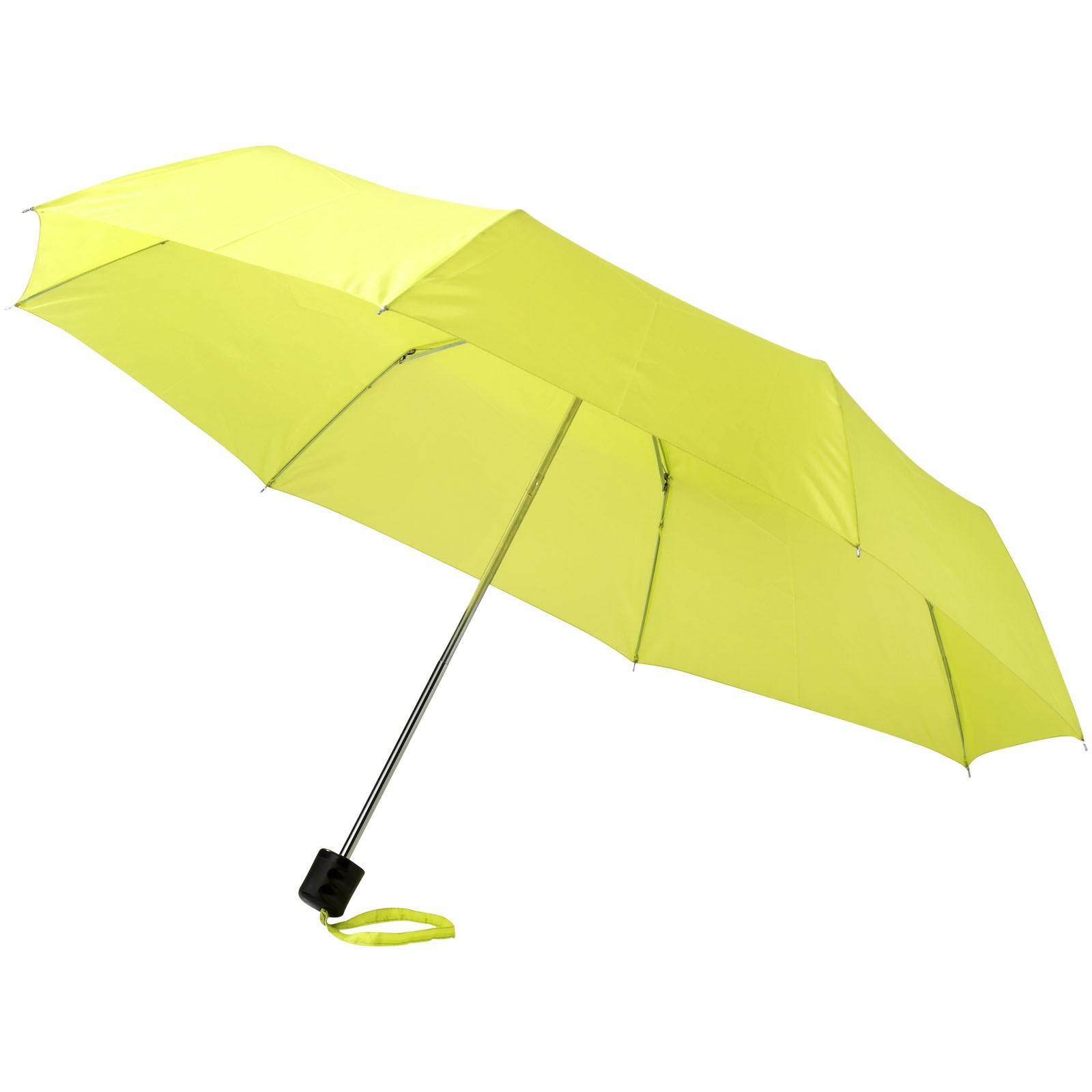 """21,5"""" skládací deštník Ida - Neonově Zelená"""