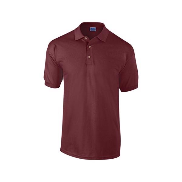 Unisex Polo Shirt 240 g/m2 Heavy Pique Polo 3800 - Maroon / M