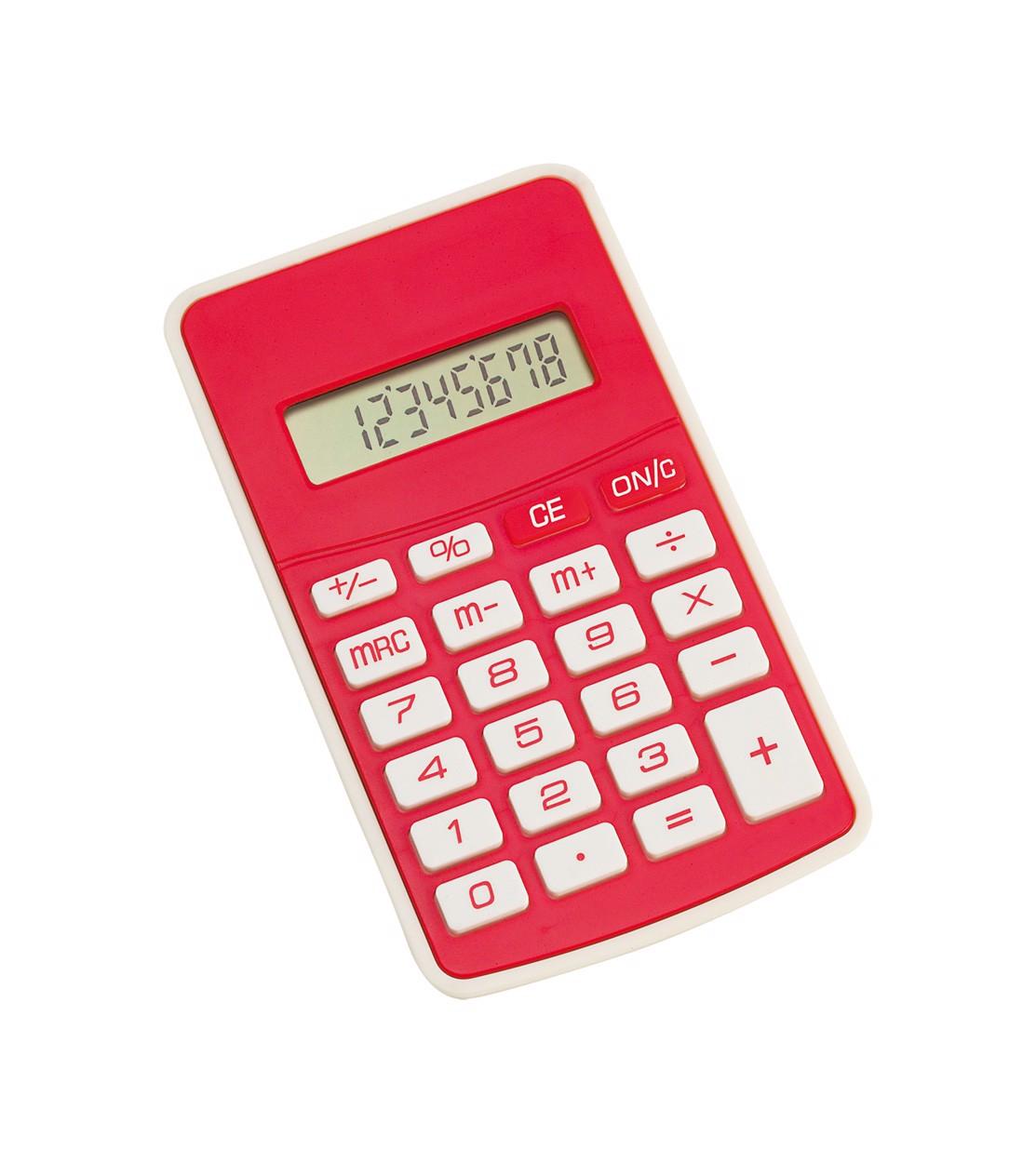 Kalkulačka Result - Červená