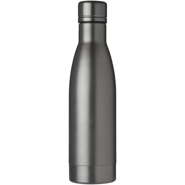 Vasa Kupfer-Vakuum Isolierflasche mit Bürste - Titan