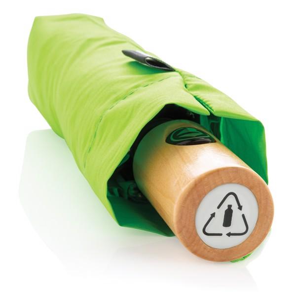 """21"""" automatický deštník z RPET - Zelená"""