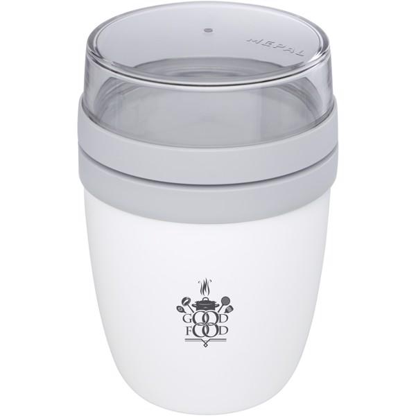 Ellipse lunch pot - White