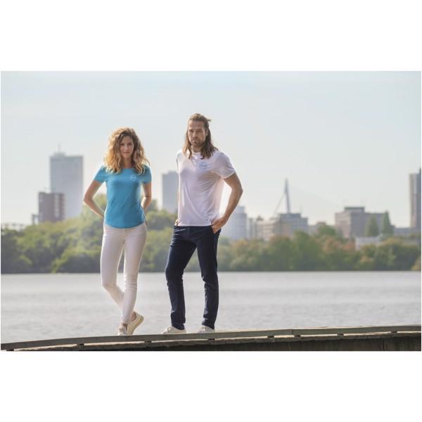 Jade short sleeve men's GRS recycled T-shirt - White / XS