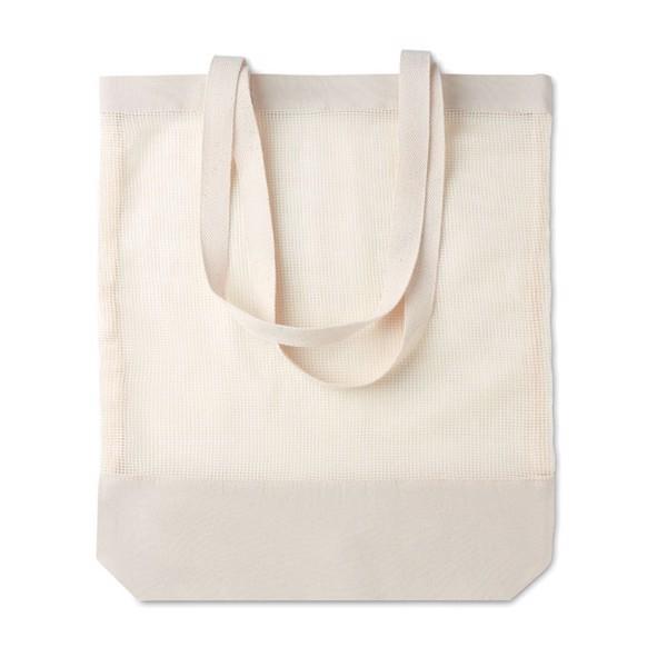 Pamut hálós bevásárlótáska Mesh Bag