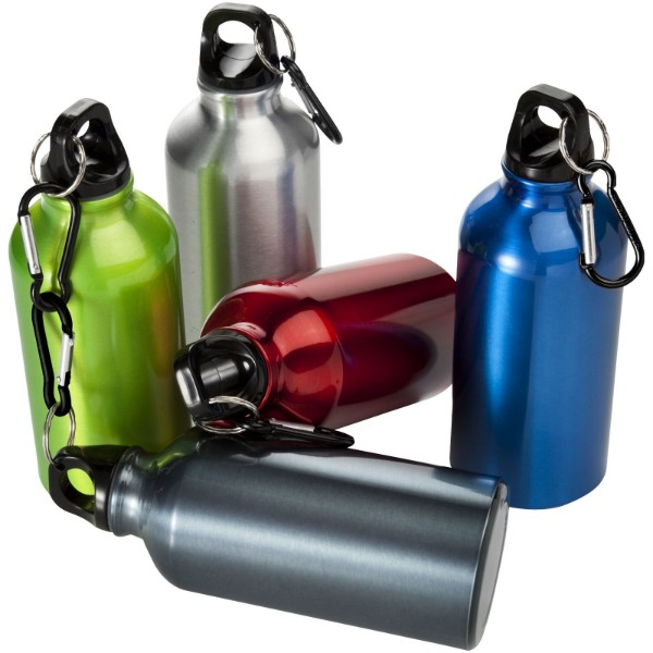 Oregon 400 ml sport bottle with carabiner - Blue