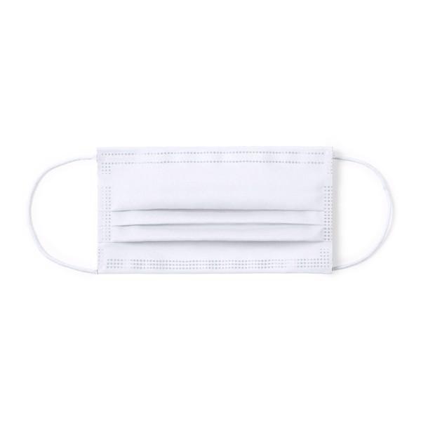 Mascarilla Higiénica Reutilizable Lergax - Blanco
