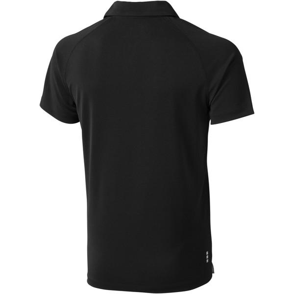 Ottawa short sleeve men's cool fit polo - Solid Black / XXL