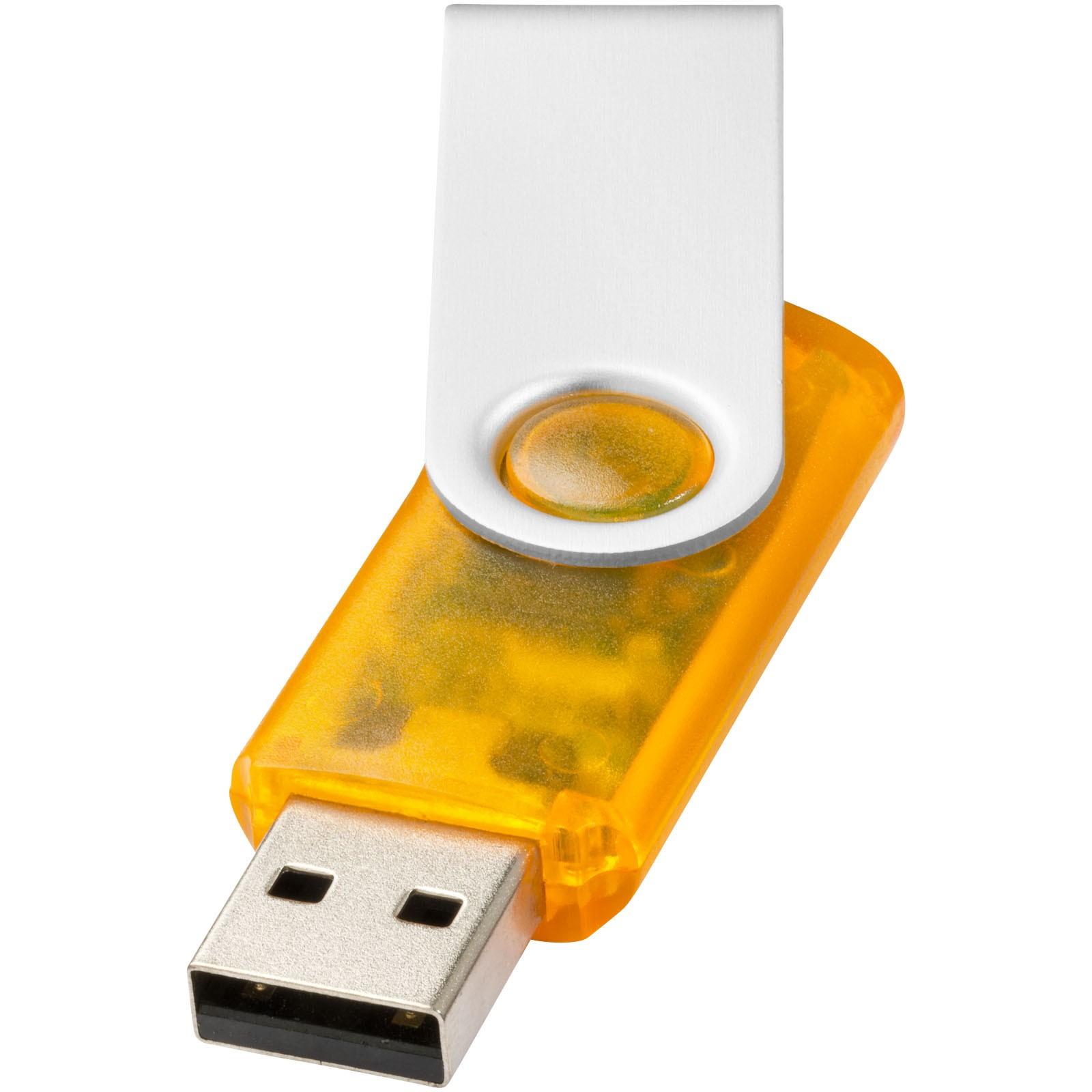 Rotate Translucent - Orange / 1GB
