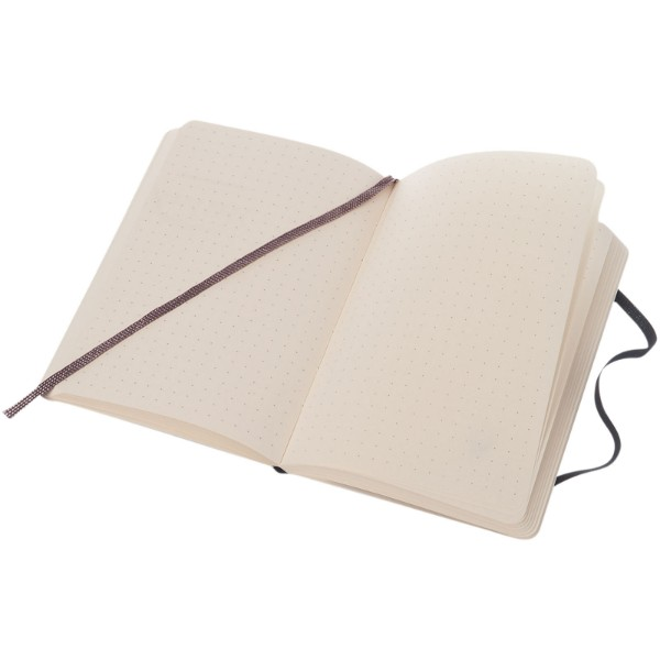 Classic PK soft cover notebook - dotted - Solid Black