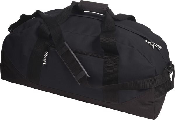 Sport-/Reisetasche 'Fitness' aus Polyester - Black