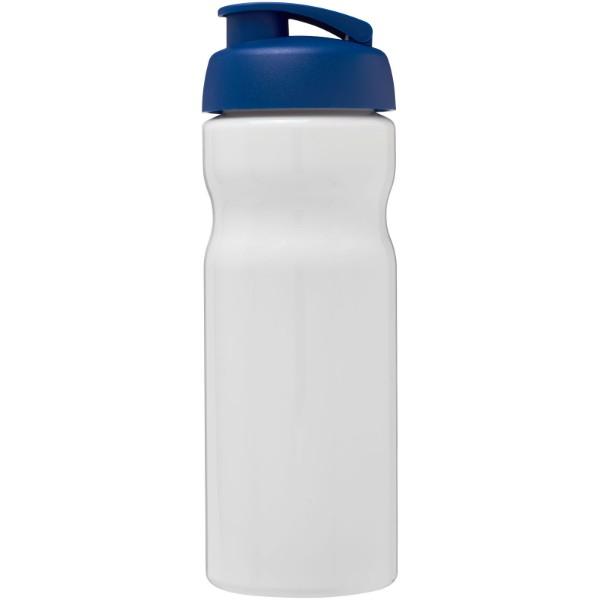 H2O Base® 650 ml flip lid sport bottle - White / Blue