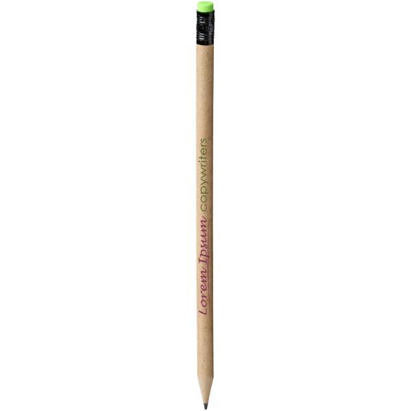 Asilah tužka z recyklovaného papíru
