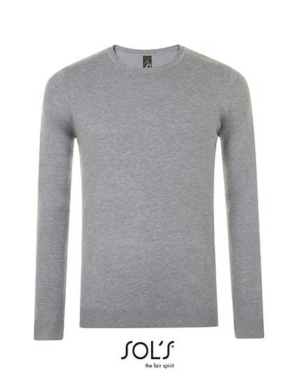 Ginger Man Sweater - Grey Melange / 3XL