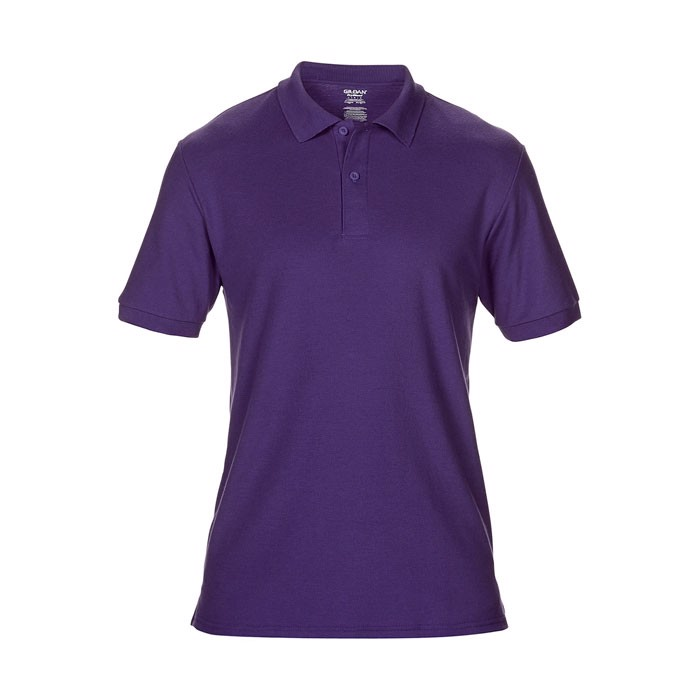 Men's Polo Shirt 207/220 g/ Dryblend Double Pique 75800 - Purple / XL