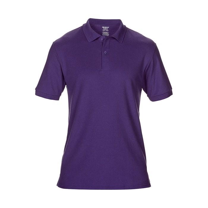 Men's Polo Shirt 207/220 g Dryblend Double Pique 75800 - Purple / 3XL