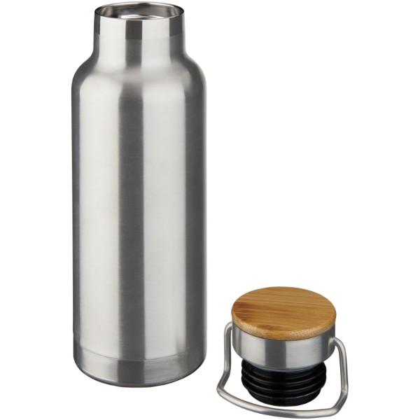 Thor 480 ml sportovní lahev s vakuovo-měděnou izolací - Stříbrný