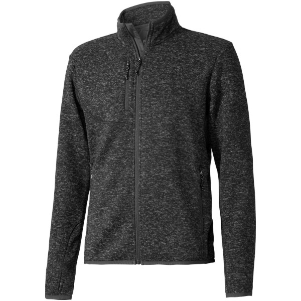 Tremblant knit jacket - Heather smoke / XXL