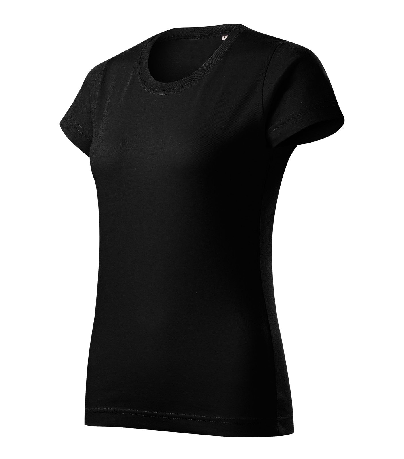 T-shirt women's Malfini Basic Free - Black / M
