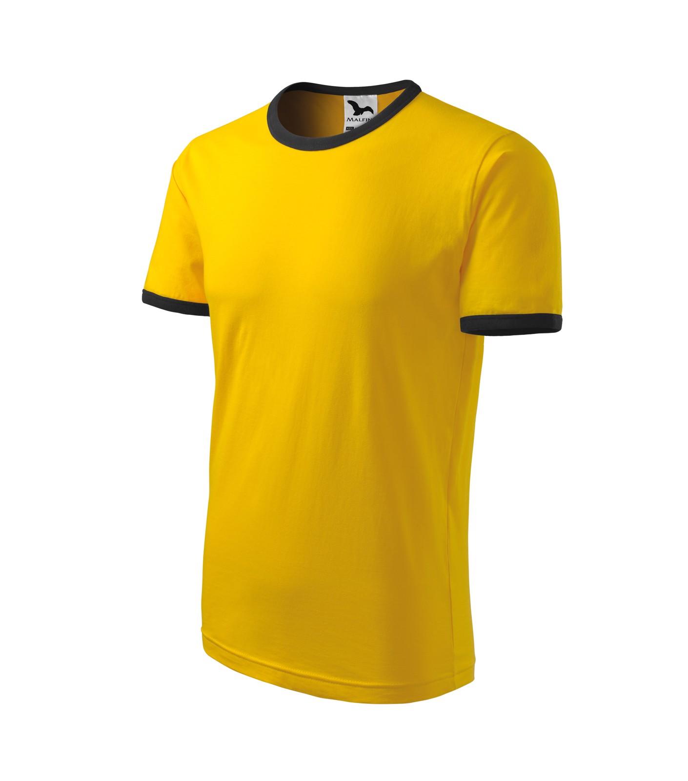 Tričko dětské Malfini Infinity - Žlutá / 122 cm/6 let