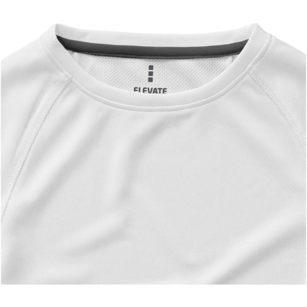 Dámské Tričko Niagara s krátkým rukávem, cool fit - Bílá / XS