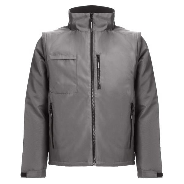 THC ASTANA. Unisex padded workwear jacket - Grey / XXL