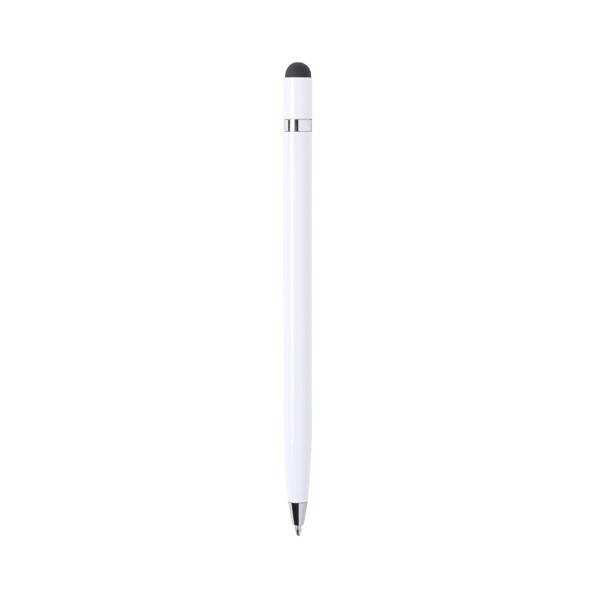 Stylus Touch Ball Pen Mulent - White