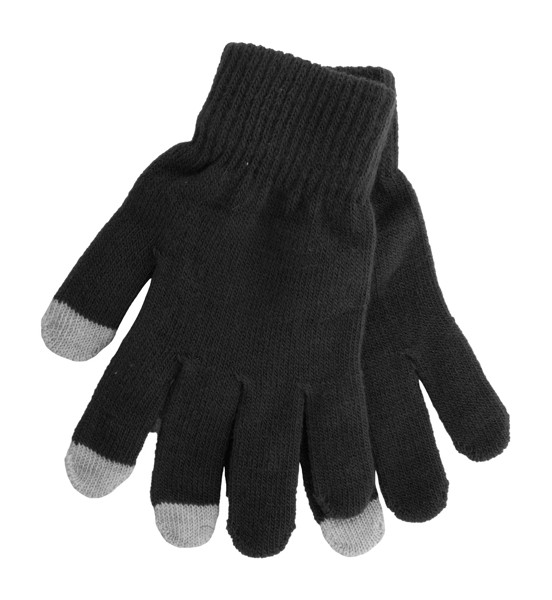 Touch Screen Gloves Actium - Black / Grey