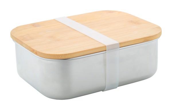 Box Na Jídlo Z Nerez Oceli Ferroca - Stříbrná