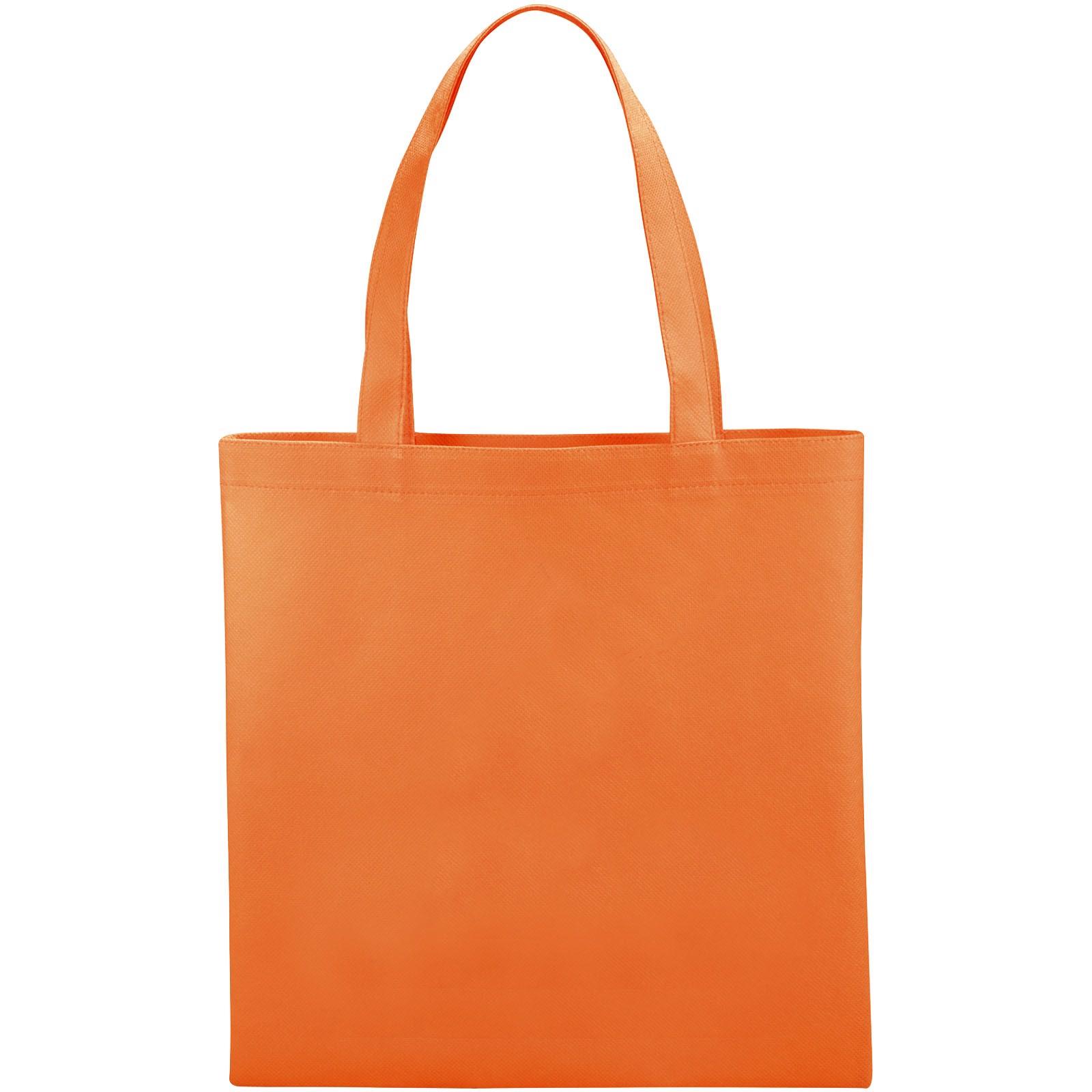 Zeus small non-woven convention tote bag - Orange