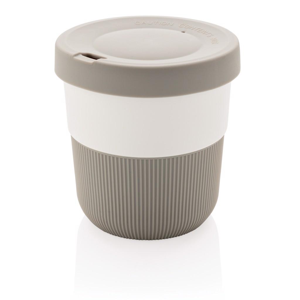 PLA kávésbögre 280 ml - Szürke