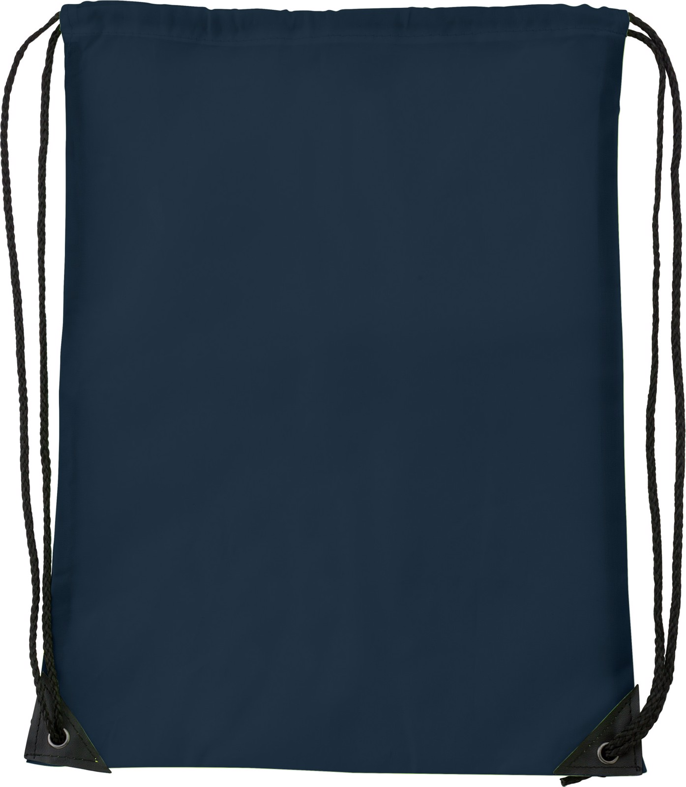 Polyester (210D) drawstring backpack - Blue