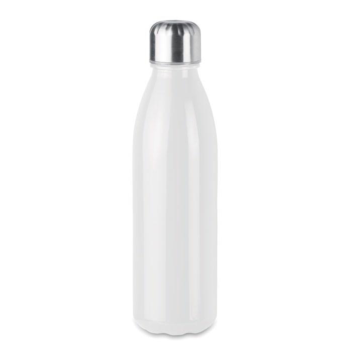 Botella de cristal 650 ml Aspen Glass - blanco