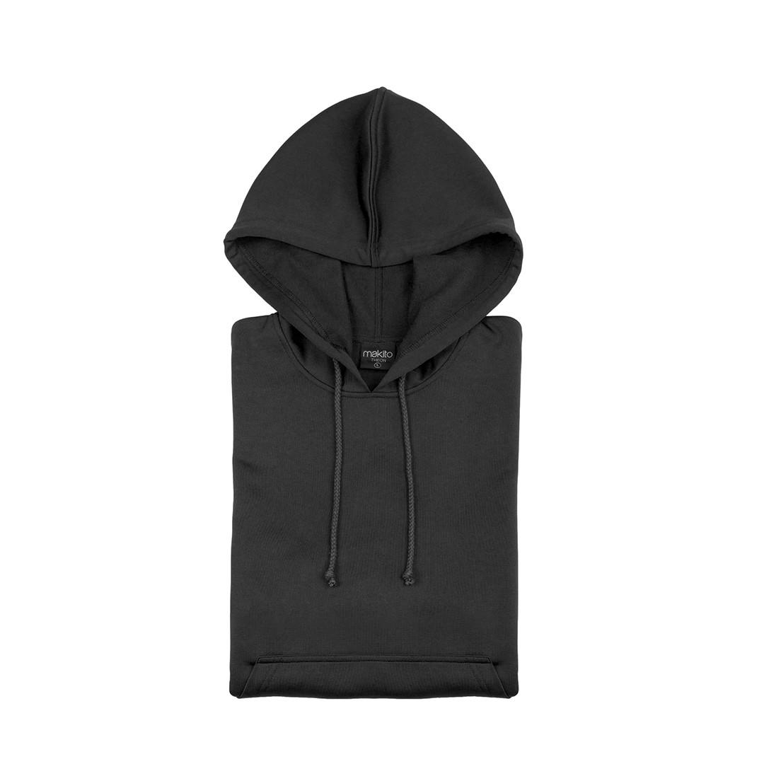 Sweatshirt Tecnica Criança Theon - Preto / 6-8
