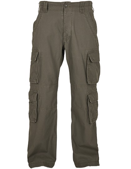 Pure Vintage Trousers - Olive / 4XL
