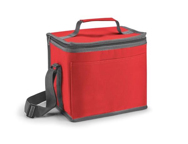SINGAPORE. Cooler bag 9 L - Red