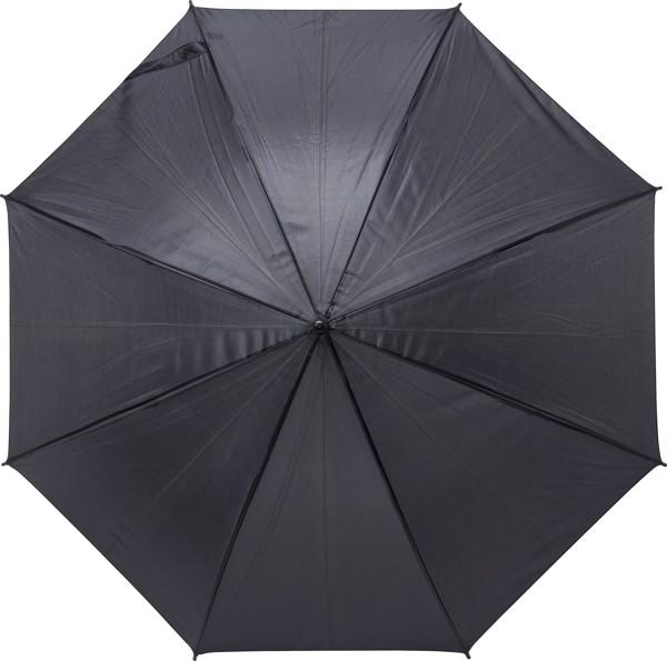 Automatik-Regenschirm 'Harrie' aus Polyester - Black