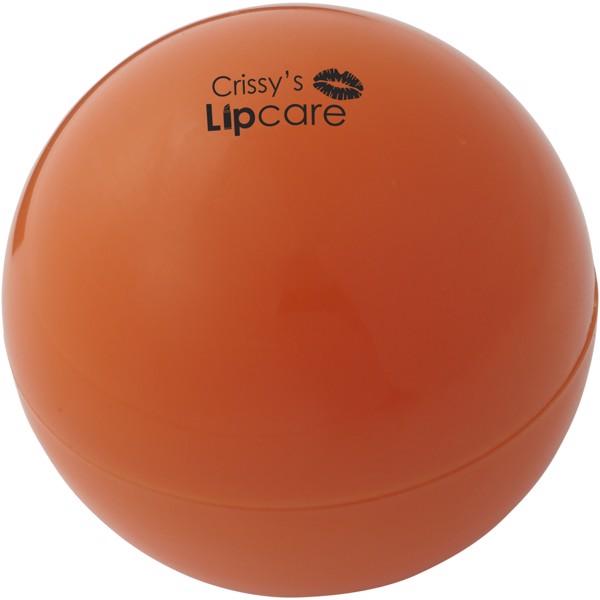 Hydra vanilla lip balm ball - Orange