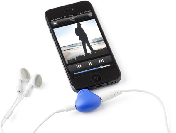 ABS 2-in-1 phone stand - Light Blue