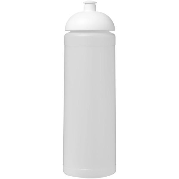 Sportovní láhev s kupolovitým víčkem Baseline® Plus 750 ml - Průhledná / Bílá