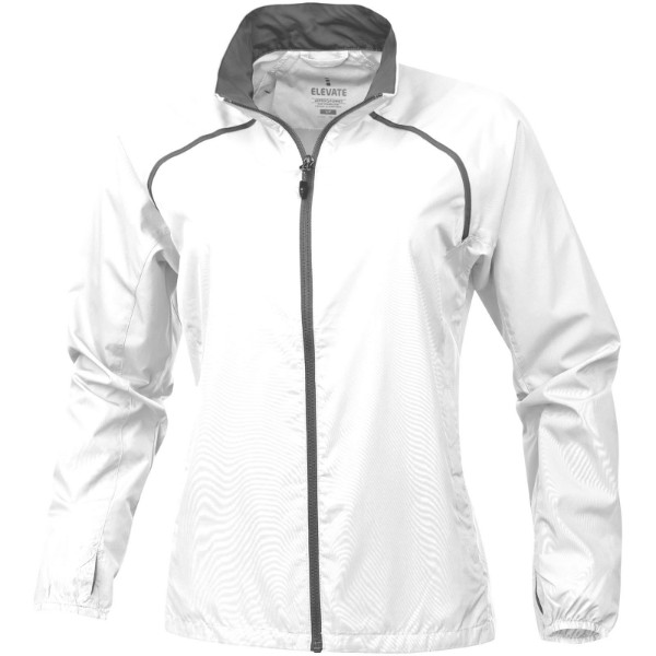 Egmont packable ladies jacket - White / XS