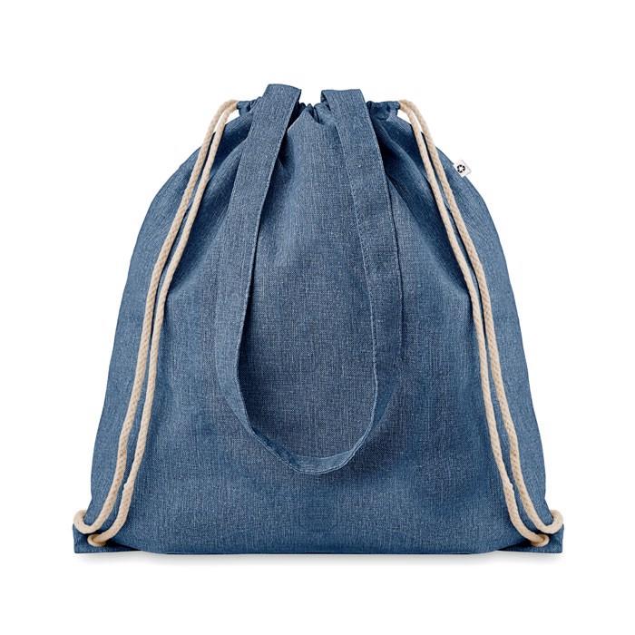 Nákupní batoh se šňůrkami Moira Duo - royal blue