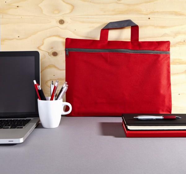Polyester (600D) conference bag - Black