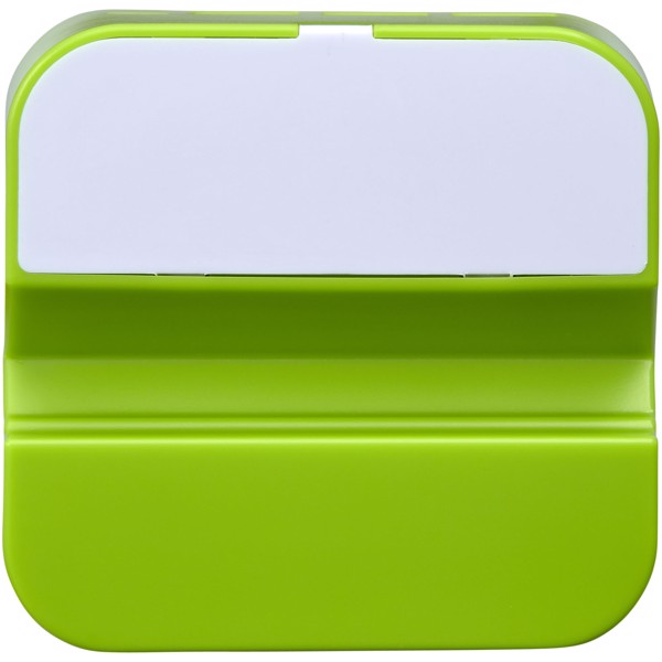 Hopper 3-in-1 USB hub and phone stand - Lime