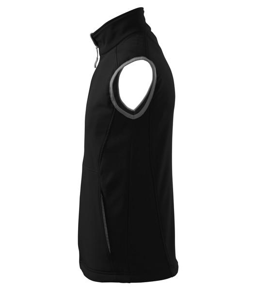Softshellová vesta pánská Malfini Vision - Černá / 3XL
