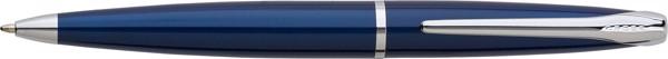 Bolígrafo de metal Cross - Transparent / Blue