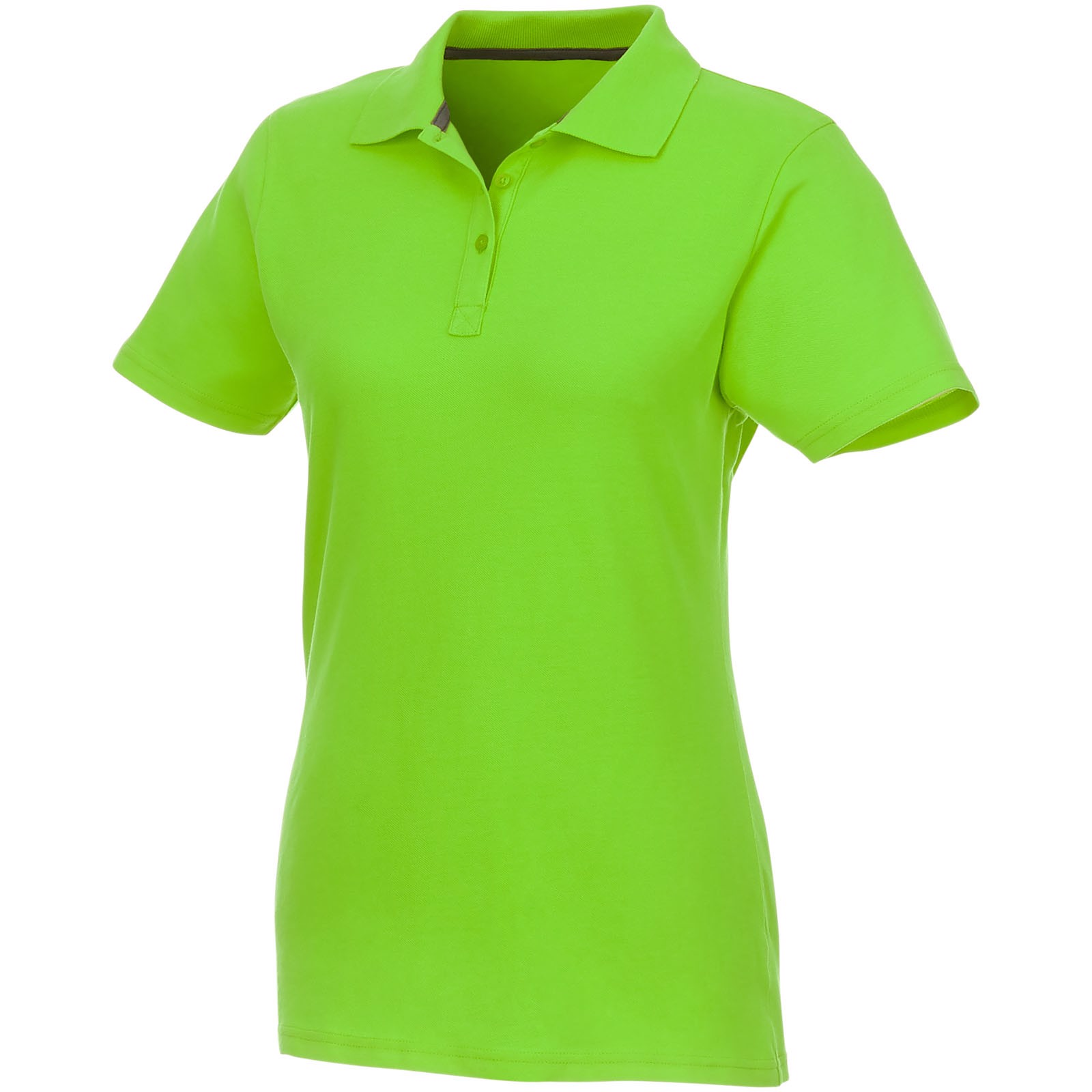 Helios short sleeve women's polo - Apple green / M