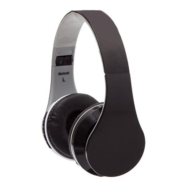 Słuchawki On Air z radiem FM - Czarny