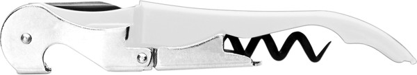 Stainless steel waiter's knife - White